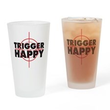triggerhappy Drinking Glass