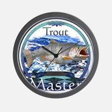 Trout master Wall Clock