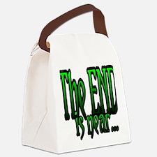 TheEndIsNEAR Canvas Lunch Bag