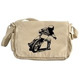 Flat track motorcycle Messenger Bags & Laptop Bags