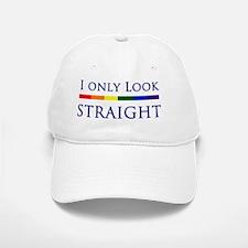 Look Straight Baseball Baseball Cap