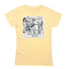 Stitched-Up-Cartoon Girl's Tee