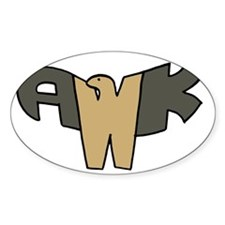 Awk Hawk Decal