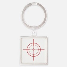 triggerhappyDrk Square Keychain