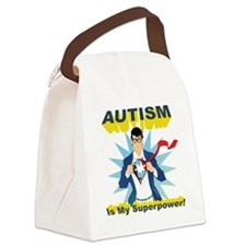 Autism is my Superpower! Canvas Lunch Bag
