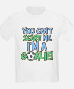 Can't Scare Goalie Kids T-Shirt