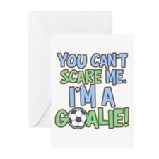 Can't Scare Goalie Greeting Cards (Pk of 10)