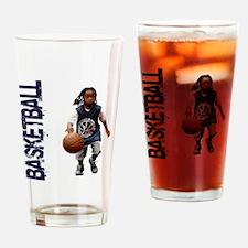basketball_Kid_dribble1 Drinking Glass
