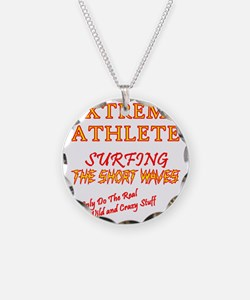 SURFING SHORT-WAVES Red Necklace