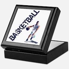 basketball_dribble (2) Keepsake Box