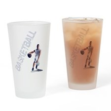 basketball_dribble_wht (2) Drinking Glass