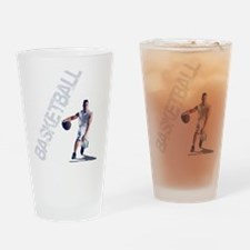 basketball_dribble_wht (2) Drinking Glass