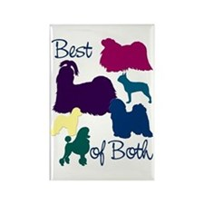 Best of Both Breeds Rectangle Magnet