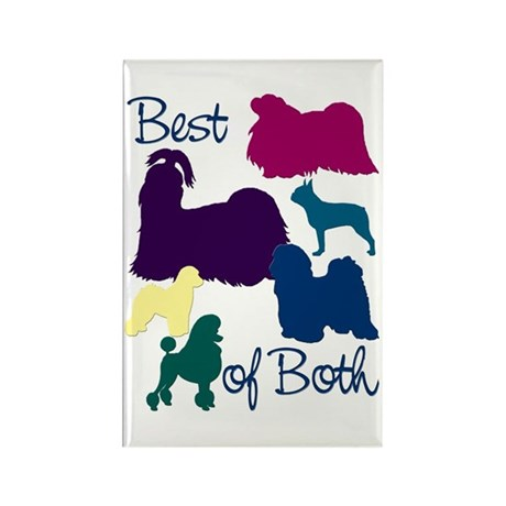 Best of Both Breeds Rectangle Magnet (10 pack)