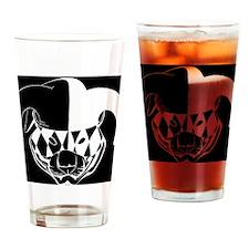 Tiger Theatre Logo Drinking Glass