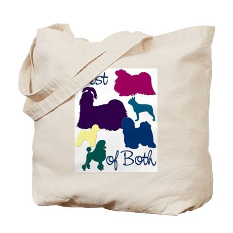 Best of Both Breeds Tote Bag