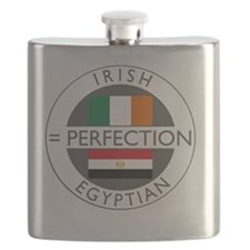 irish egyptian flags round Flask