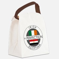 irish egyptian flags round Canvas Lunch Bag