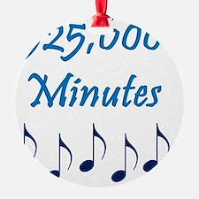 525600 Minutes Ornament