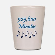 525600 Minutes Shot Glass