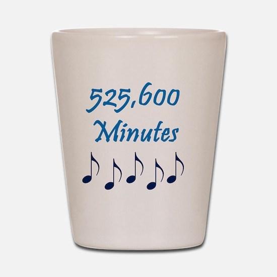 525600 Minutes Shot Glass