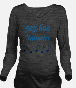 525600 Minutes Long Sleeve Maternity T-Shirt