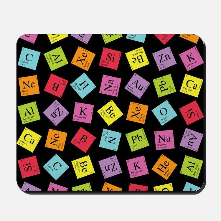 periodic_3 Mousepad