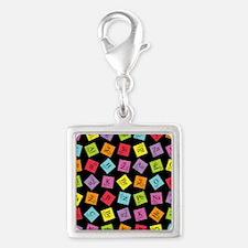 periodic_3 Silver Square Charm