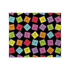 periodic_3 Throw Blanket
