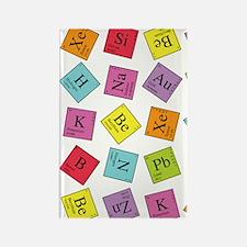 periodic_441 Rectangle Magnet