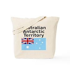 Antarctica1-WHITE Tote Bag