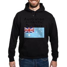 Antarctica1-WHITE Hoodie