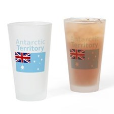Antarctica1-DARK Drinking Glass