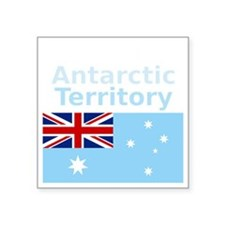 "Antarctica1-DARK Square Sticker 3"" x 3"""