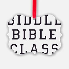 Biddle Bible Class Ornament