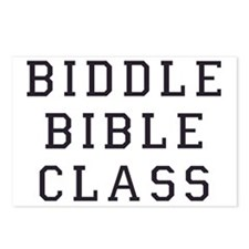 Biddle Bible Class Postcards (Package of 8)