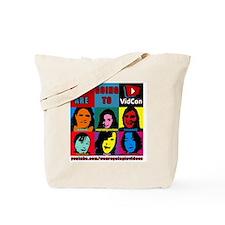 VidConWarholTShirt Tote Bag