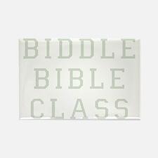 Biddle Bible Class Dark Rectangle Magnet