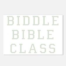 Biddle Bible Class Dark Postcards (Package of 8)
