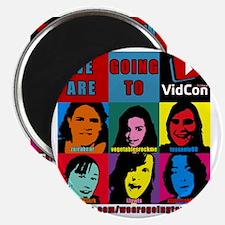 VidConWarholTShirt Magnet