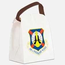 187th Fighter Wing Canvas Lunch Bag