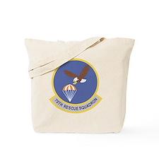 79th Rescue Squadron Tote Bag