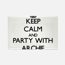Keep Calm and Party with Archie Magnets