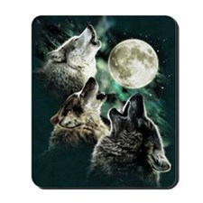 88503wolfmoo311n Mousepad