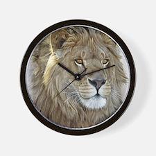 lion-portrait-t-shirt Wall Clock
