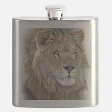 lion-portrait-t-shirt Flask