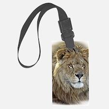 lion-portrait-t-shirt Luggage Tag