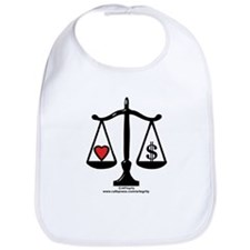 Balance of Love & Money Bib