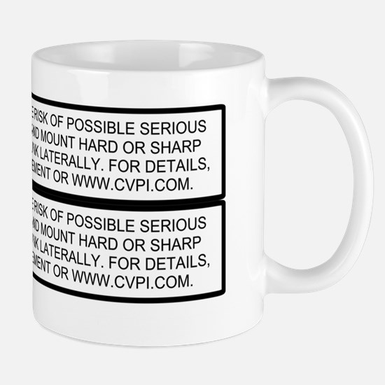 P71-Dash-Stickers Mug
