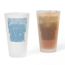 phour3blue Drinking Glass